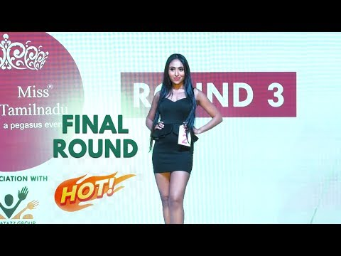 Miss Tamilnadu 2020 Final Round | WINNER Of Miss Tamilnadu Here !