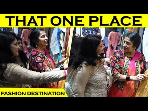 THAT ONE PLACE – The Fashion Destination | Suhasini Manirathnam