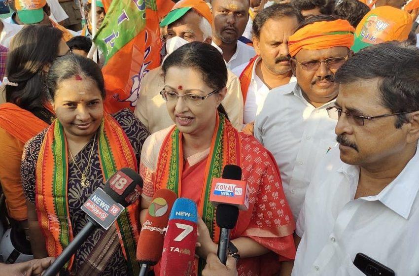 'தேர்தல் முடிவுகள் அறிவிக்கப்படும் போது  தெரியும்' -கமல் குறித்து கௌதமி!