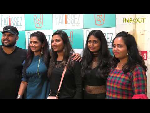 Vijay Tv Stars Innagurated The Patissez RestoCafe At pheonix Mall