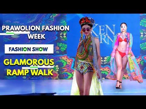 சென்னையை கலக்கிய அழகிகள் … Prawolion Fashion Week !! Hot Ramp Walk!