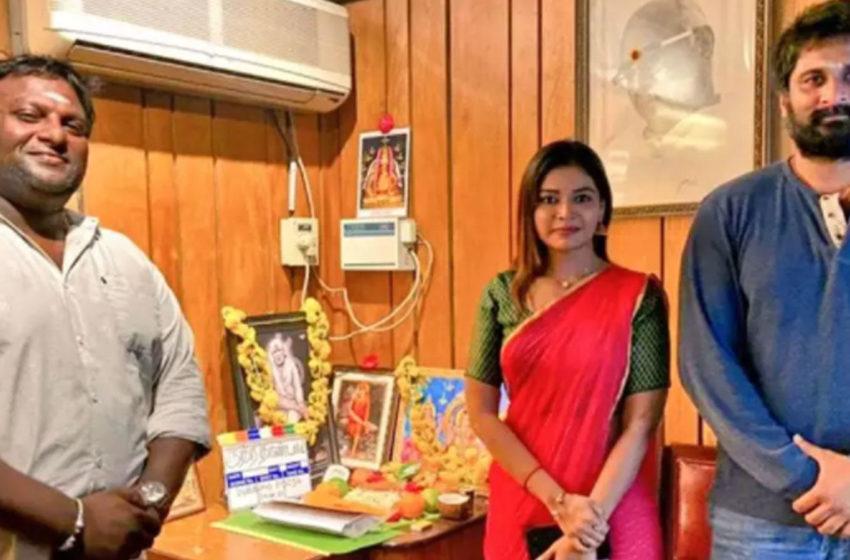 மோகன் மற்றும் ரிச்சர்டின் 'ருத்ராதண்டவம்' டப்பிங்  பூஜையுடன் தொடங்கியது!