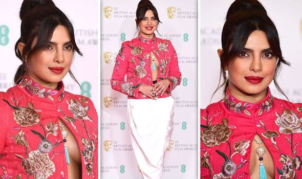BAFTA 2021: Priyanka Chopra And Nick Jonas.