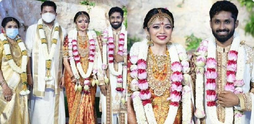 #DirectorShankar's daughter gets married to popular cricketer – wedding pics go viral!