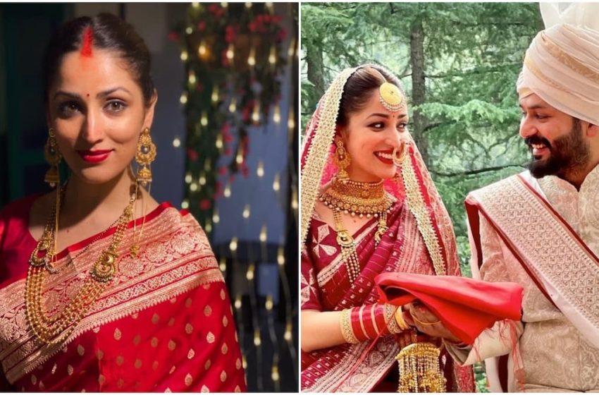 Yami Gautam looks mesmerising as new bride. Unseen pics from the wedding 🤩