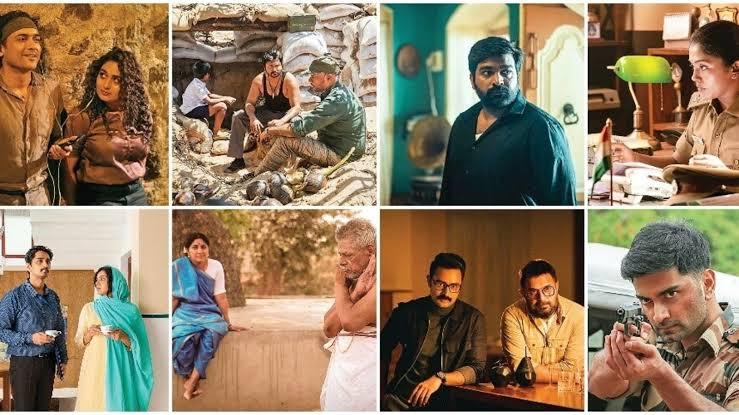 '#நவரசா' டீசர் வெளியீடு! 9 கதைகள், 9 உணர்வுகளின் வெளிப்பாடு !
