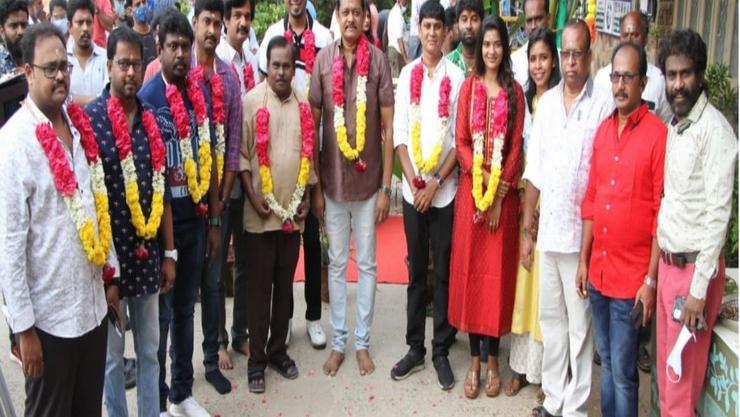 பூஜையுடன் தொடங்கிய பிரபுதேவா & ஐஸ்வர்யா ராஜேஷ் திரைப்படம்!