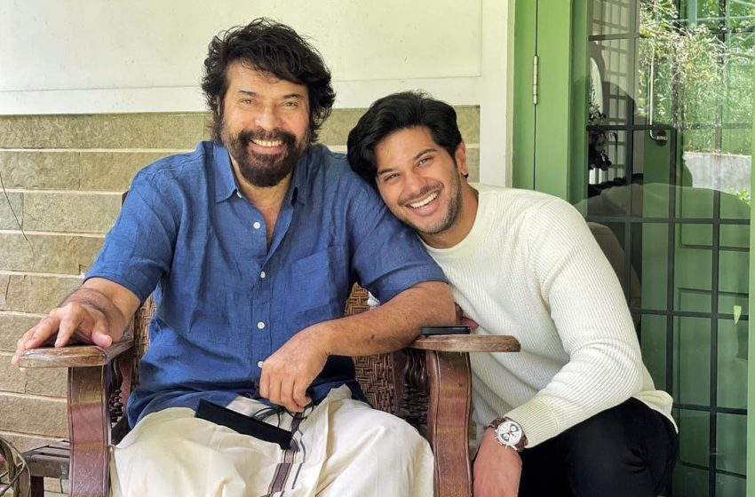 """""""I love you infinity Pa!"""" says Dulquer Salmaan, as dad Mammootty turns 70"""