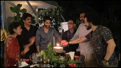 #Absence of Samantha Akkineni: Naga Chaitanya hosted a Dinner party for Aamir in his Residence!!