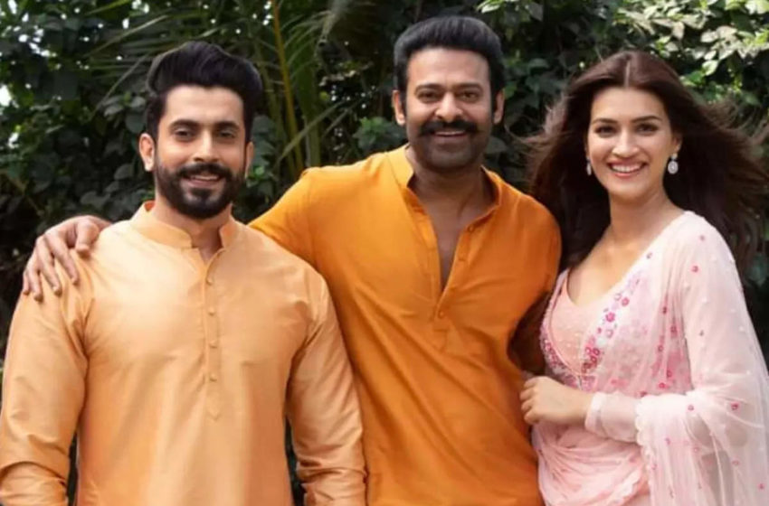 # Latest Update of 'Adipurush': The cast and crew of Adipurush film landed Mumbai for Final schedule shoot!!!
