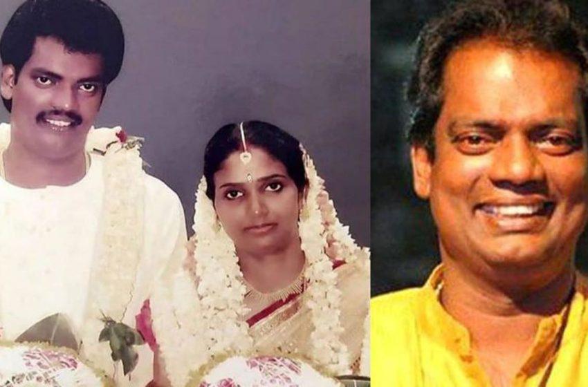 National Award winning actor and comedian Salim Kumar celebrates his 25th year Wedding Anniversary with his wife Sunitha