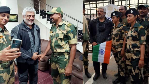 தேசிய கொடியுடன் #அஜித் வைரலாகும் புகைப்படங்கள்!!