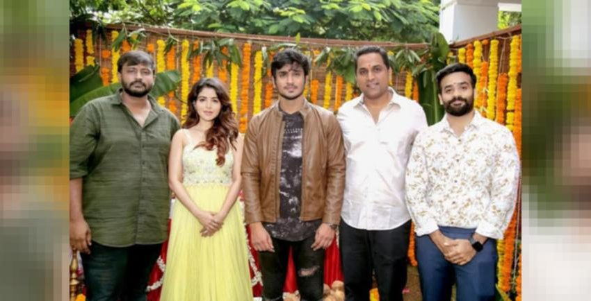 # 'Nikhil 19': Tollywood actor Nikhil and Garry BH's next project started with Puja!!