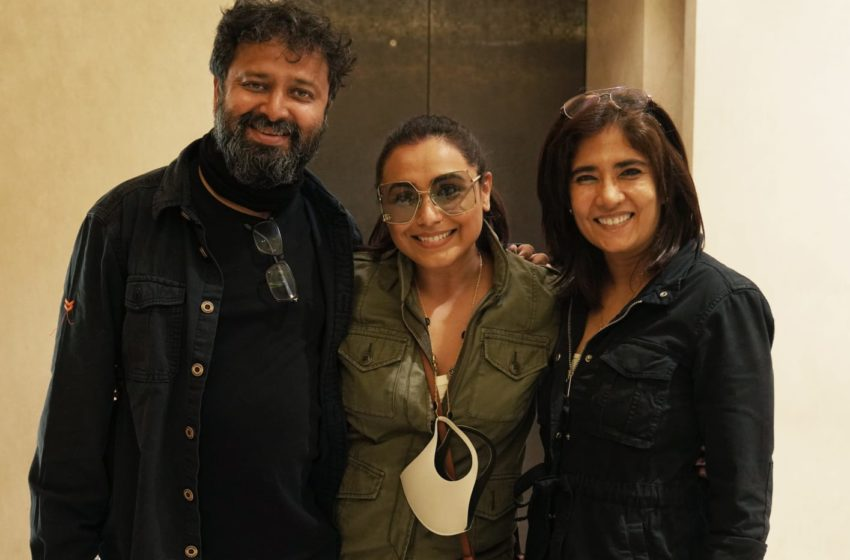 #Bollywood Update: The Makers Of 'Mrs. Chatterjee Vs Norway' Has Wrapped Up The Shoot!!