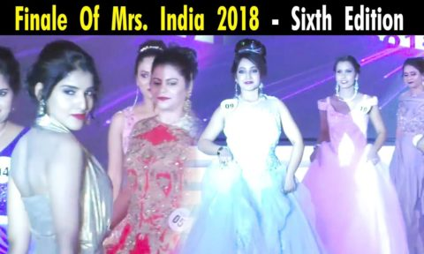 Finale of Mrs. India 2018