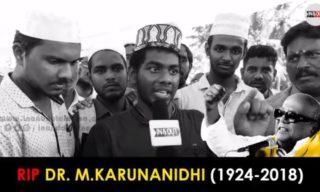 RIP Dr. Karunanidhi
