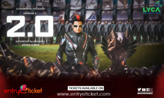 Robo 2.0 movie ticket pop up ads