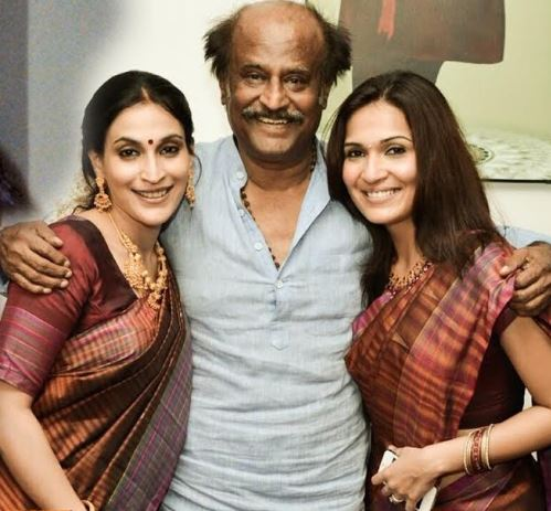 rajini daughter second marriage