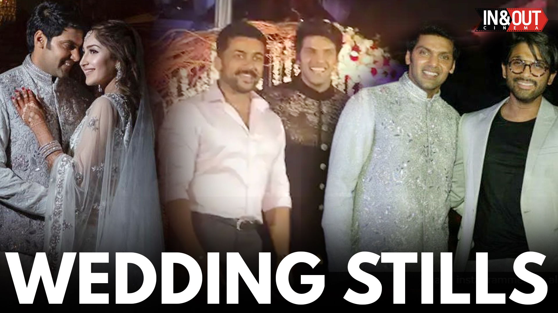 Arya Sayesh Wedding Videos