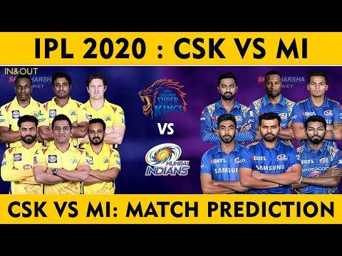 CSK Vs MI Match Prediction | Csk vs Mi Dream 11 | IPL  PREDICTION